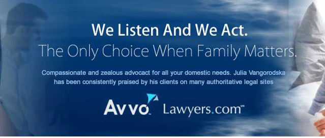 Divorce Lawyer NYC: New York Family Attorney Yulia Vangorodska
