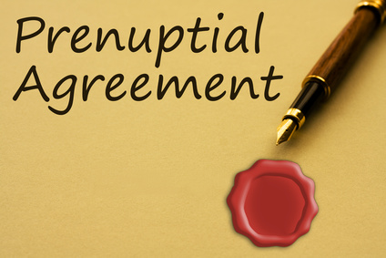Pre-nuptial agreement in writing